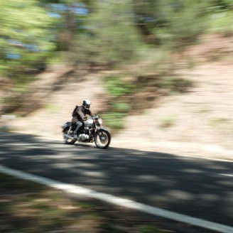 Motorcycling through the Royal National Park
